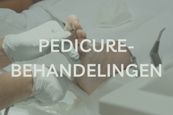 Pedicurebehandelingen